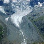 Tschierva-Gletscher von der Fuorcla Surlej aus