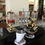 Mimosa and Bloody Mary Breakfast Bar