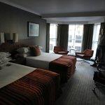Club room (2 x twin beds facing road)