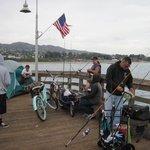 Ventura Pier Shark Fishermen.