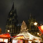 X'mas market at Cologne in 2013