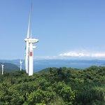 展望台より 佐田岬半島より八幡浜方面