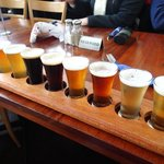 The Beer Paddle sampler