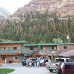 The beautiful motel