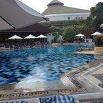 nice, warm pool