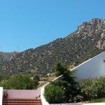 Flot udsigt til bjergene