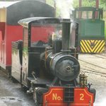 one of the steam trains