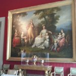 Ferdinando I delle Due Sicilie (già Ferdinando IV di Napoli) con la famiglia