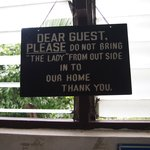 Funny signage!
