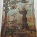 Pintura al fresco, del altar del Convento franciscano de Calpan, siglo XVI, Patrimonio mundial,
