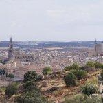 Vistas de Toledo desde el Hotel