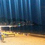 Lavante beach at night;-)