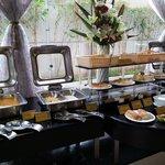 Amazing breakfast spread