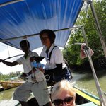 Long Boat with Tanya our expert guide.