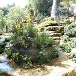 cascade au jardin fontaines