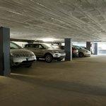 Garages en el hotel