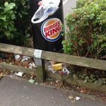 Staff need to pay more attention to rubbish control