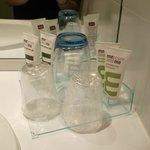 Produits d'accueil salle de bain