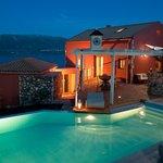 Our villa overlooking beautirul Fiscardo bay