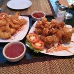 Tempura Shrimp and the wonderful Golden Bags!