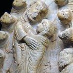 La résurrection de la Vierge sur le tympan marial de Cabestany