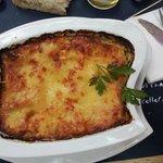 Lasagnes poulet et champignon