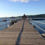 Pier onto Seneca Lake