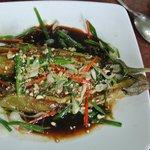 Grilled eggplant - yum