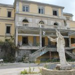Creepy abandoned Hotel Eremo on the slopes of Vesuvius