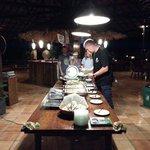 Dinner Buffet @ Thalassa 5* PADI Dive Resort
