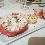 Lovely crab apetizer