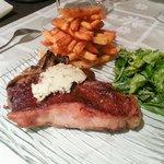 Big T-Bone steak