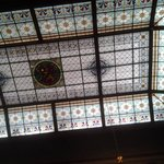 glasspainted ceiling