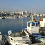 Estepona Marina from the fishermen's boats end