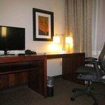 desk/tv in second room