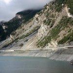 Gallerietunnel auf der italienischen Seite