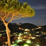 """Blick von der """"Gartenseite"""" auf den Monte Epomeo"""
