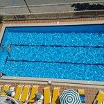 Lovely quiet pool.