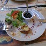 Beignets de camenbert !! Avec confiture et sa salade un régal !!