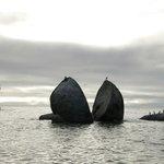 The famous rock