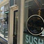 Outside Yazu Sushi