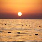 Sunset en soirée pour souvenir