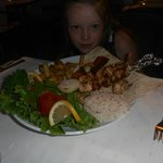 beautiful food/ this was a childs meal