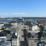 View towards Amalienborg and the Opera