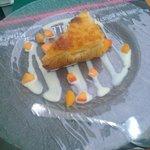Clafoutis abricot-miel