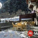 Terraza restaurante Polar Base