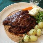 Fin Whale Pepper Steak