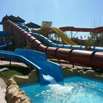 The famous waterslides