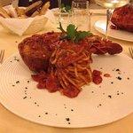 spaghettoni con cicala greca