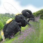 BIG bee sculpture